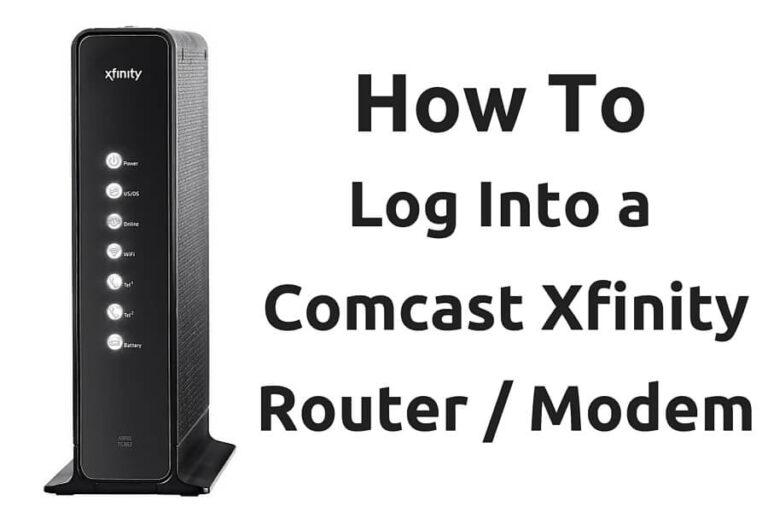Comcast Login 10.0.0.1